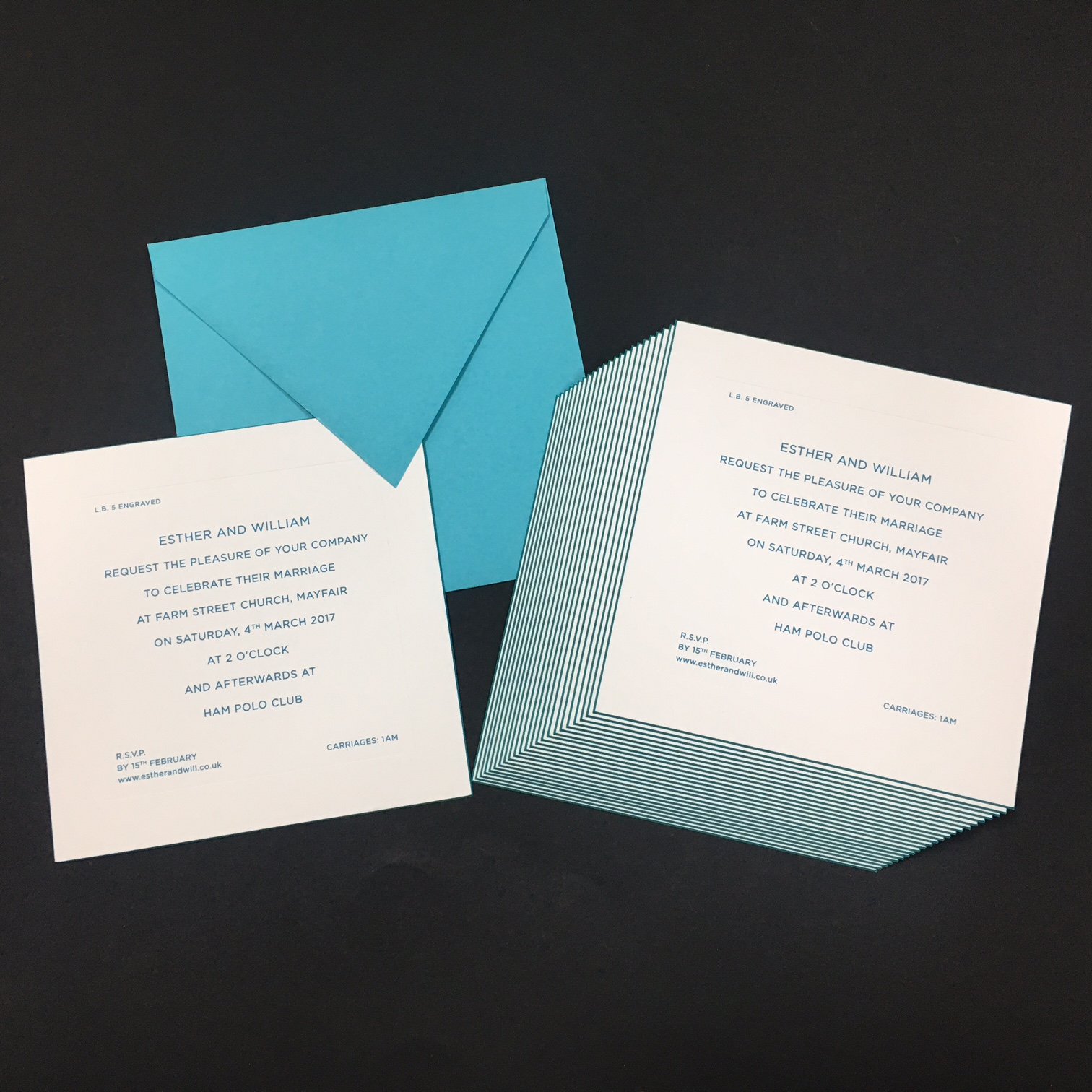 Bespoke Wedding Invitations: Bespoke Wedding Invitation